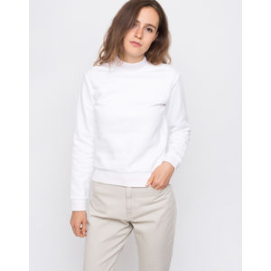 Obey Quincy Mockneck White M