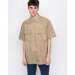 Dickies Work Shirt Khaki M