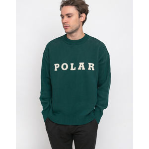 Polar Skate Co. Polar Knit Sweater Dark Green XL