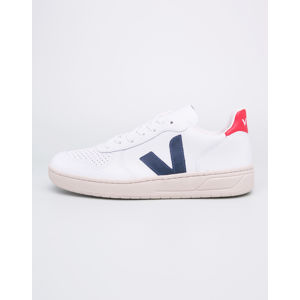 Veja V-10 Leather Extra White Nautico 46