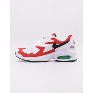 Nike Air Max2 Light WHITE/BLACK-HABANERO RED-COOL GREY 45