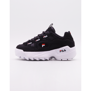 Fila D-Formation Black/ White/ Fila Red 45