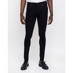 Dr. Denim Leroy Black Punk L