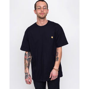 Carhartt WIP Chase T-Shirt Dark Navy/Gold XL