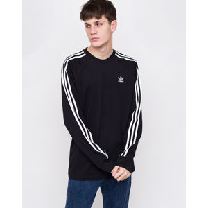 adidas Originals 3 Stripes LS Tee Black S