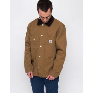 Carhartt WIP Michigan Coat Hamilton Brown rinsed S