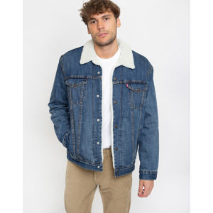 Levi's® Type 3 Sherpa Trucker Blue M