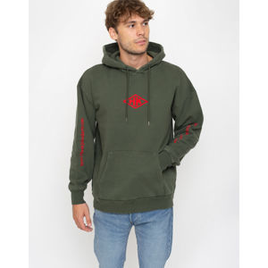 Han Kjøbenhavn Artwork Hoodie Faded Army L