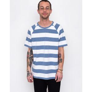 Makia Keel T-shirt Blue/White S