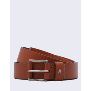 Nixon Americana Leather Belt SADDLE S