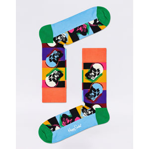Happy Socks Andy Warhol Skull AWSKU01-0100 36-40
