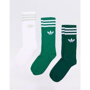 adidas Originals Solid Crew Sock Noble Green / Bold Green / White 43-46