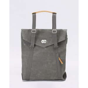Qwstion Tote Organic Washed Grey